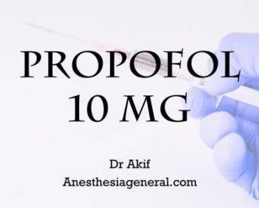 Propofol 10 mg