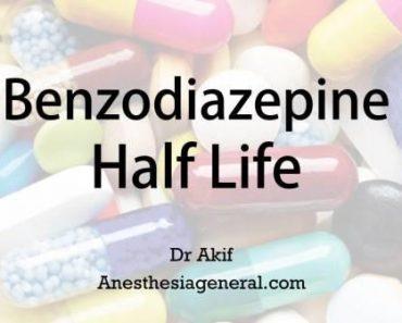 Benzodiazepine half life