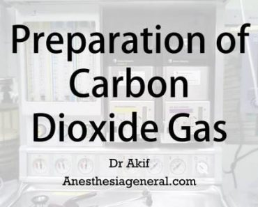 Preparation of carbon dioxide gas