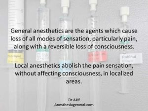 What is General Anesthesia and general anesthetic