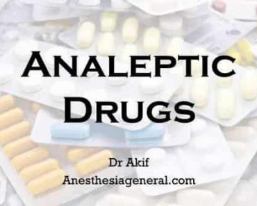 Analeptic Drugs