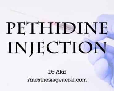 pethidine injection