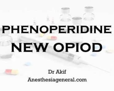 phenoperidine new opiod